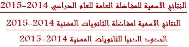 نتائج المفاضلة العامة الثانية في سوريا 2014-2015 موقع وزارة التعليم العالي السورية