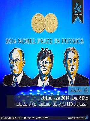 Post image of نتائج جائزة نوبل في الفيزياء 2014