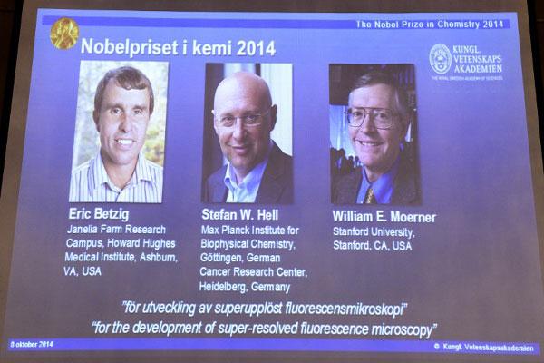 Post image of نتائج جائزة نوبل في الكيمياء 2014