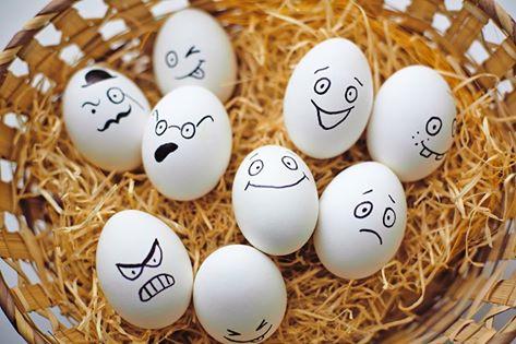 البيض يضر المعده و القولون
