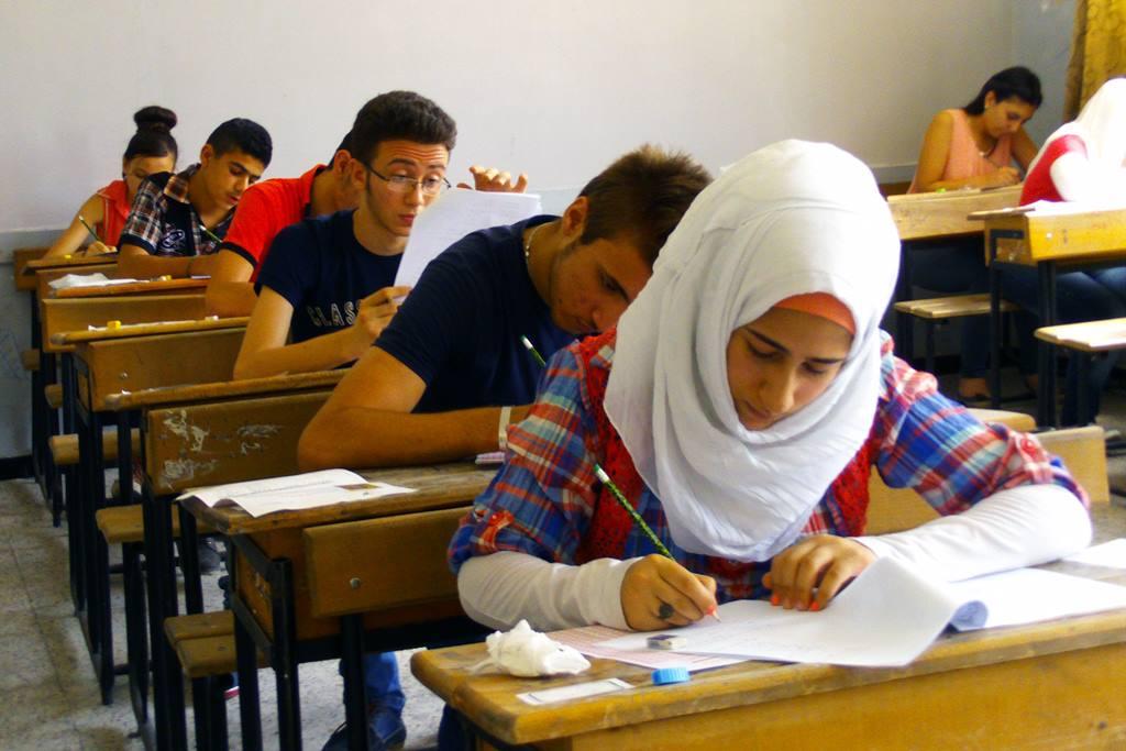 أسئلة امتحان المرحلة الأولى بالقبول بالمركز الوطني للمتميزين للصف العاشر 2016-2017