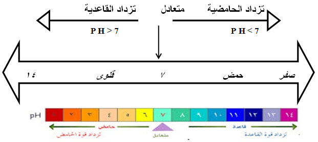 الاحماض والقواعد كيمياء الصف الثاني عشر علمي
