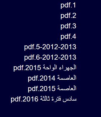 نماذج اختبارات السنوات السابقة و الاجابات النموذجيه لها رياضيات سادس فترة ثالثة الكويت
