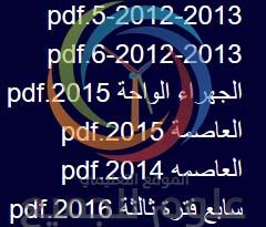 نماذج اختبارات السنوات السابقة فترة ثالثة سابع والاجابات النموذجيه لها رياضيات الكويت
