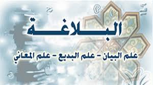 وتلخيص وتدريبات البلاغة في اللغة العربية للصف الثاني عشر فترة ثالثة