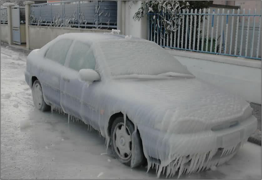 الفرق بين الثلج والبرد والامطار الثلجية