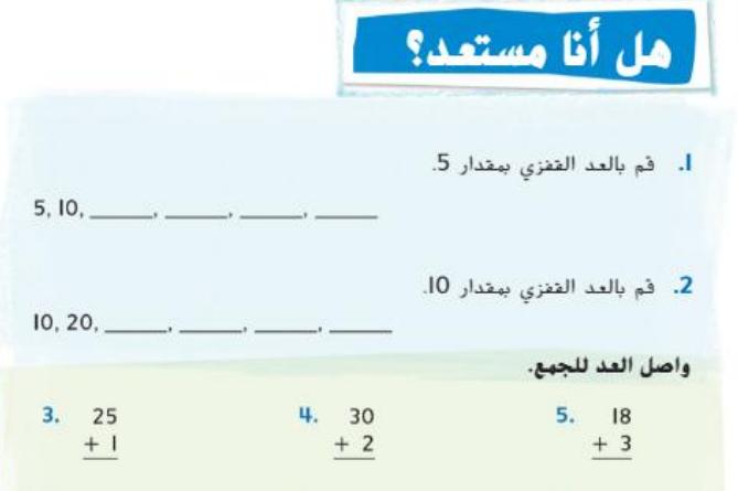 الوحدة العاشرة الاموال  لمادة الرياضيات   الفصل الثالث لصف الثاني في الامارات
