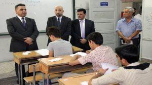 اختبارات القبول بمدارس المتفوقين في دمشق وحماة واللاذقية 2017-2018