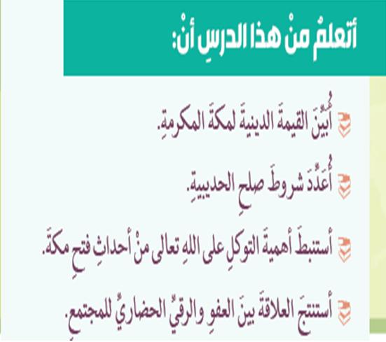 تربية إسلامية درس فتح مكة (عرض تقديمي)