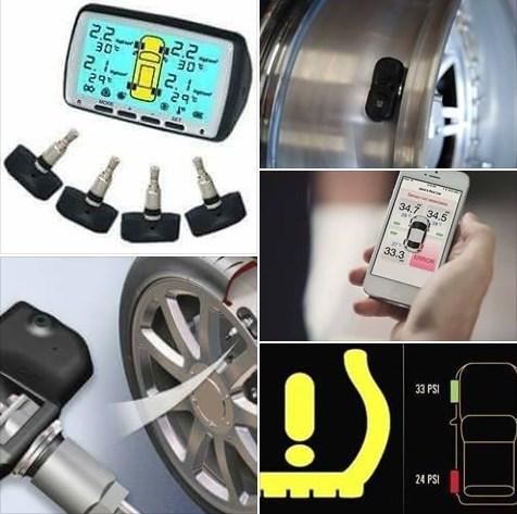 نظام مراقبة ضغط هواء الاطارات TPMS  Tire Pressure Monitoring System