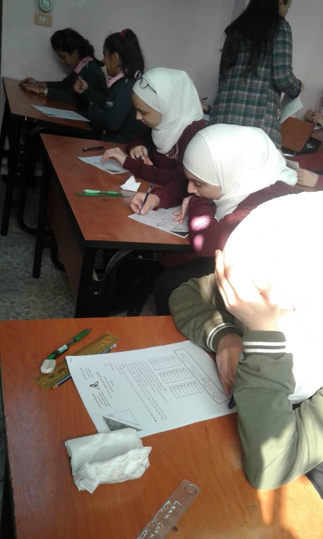 المرحلة الثانية من الأولمبياد العلمي السوري للعام الدراسي 2018-2019