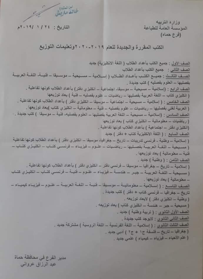 رد: ورقة اسئلة الامتحان النهائي لمادة اللغة العربية الصف التاسع 2019 بالمحافظات مع الحل