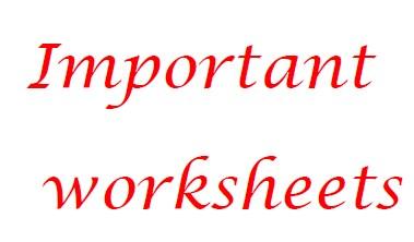 أوراق عمل للتحضير للفحص الترشيحي مادة اللغة الانكليزية بكالوريا حرة