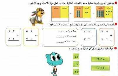 الصف الثاني الرياضيات أوراق عمل