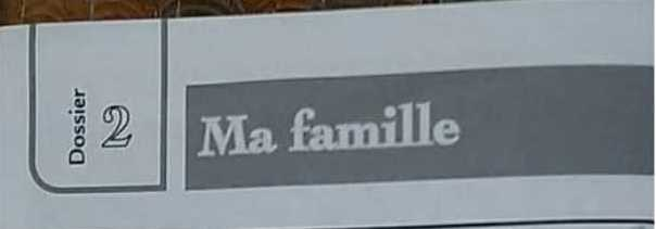 الصف السابع اللغة الفرنسية حل الوحدة الثانية