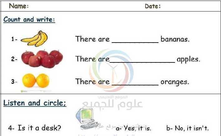 الصف الثاني اللغة الانكليزية  نماذج اسئلة لجميع الدروس
