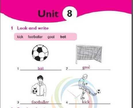 الصف الخامس اللغة الانكليزية حل الوحدة (8) كتاب الأنشطة