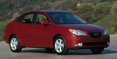 شراء سيارة مستعملة هيونداي افانتي 2007/2010
