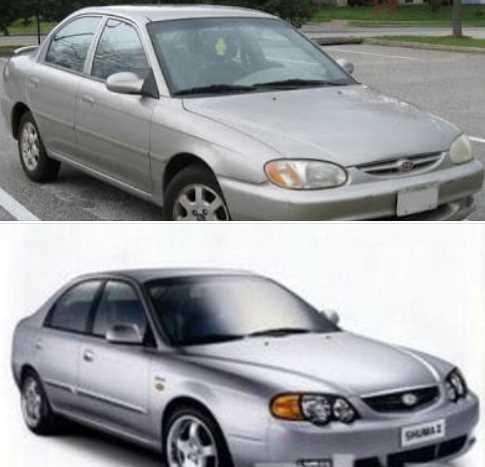 شراء سيارة مستعملة كيا سيفيا ( سبكترا) كيا شوما