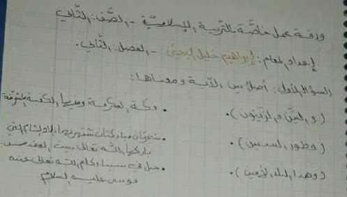ورقة عمل الفصل الدراسي الثاني التربية الإسلامية الصف الثاني