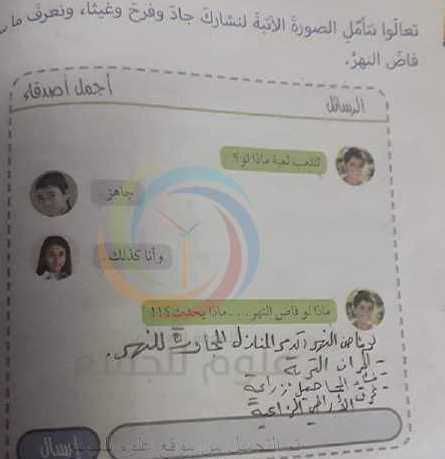 حل درس نتواصل لنكتشف اجتماعية الصف الخامس
