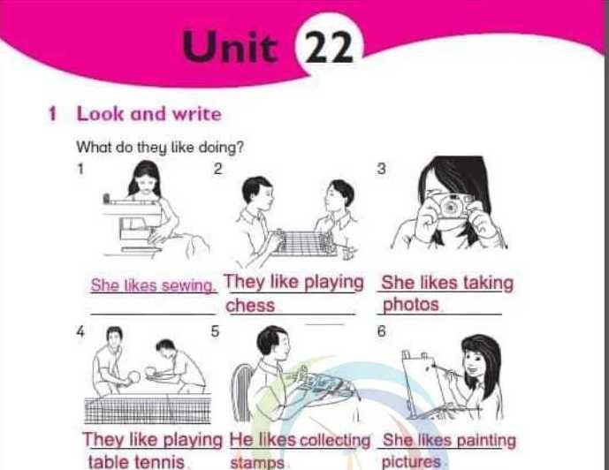 حل الوحدة 22 اللغة الانكليزية الصف الخامس