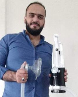 منتج تقني سوري جديد يساعد في التصدي لوباء كورونا