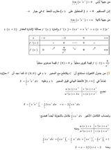 المستقيمات المقاربة الموازية لمحوري الاحداثيات (الصف الثالث الثانوي)