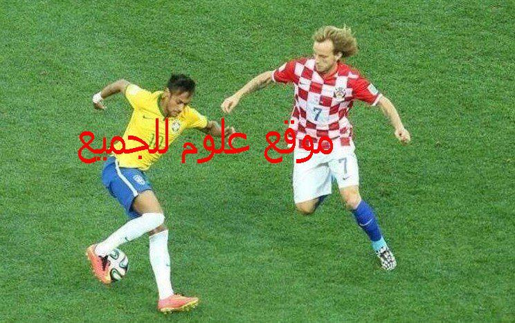 نيمار يراوغ راكيتيتش  - كأس العالم 2014