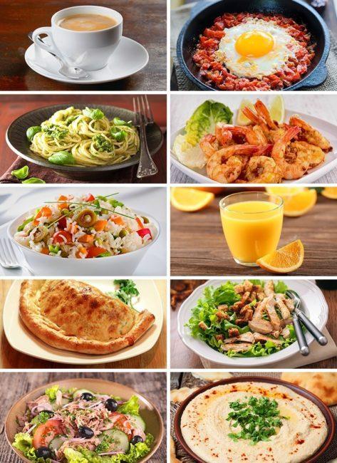 في حال سافرت خارج البلاد، ماذا ستشتري لك 30 دولار من طعام.